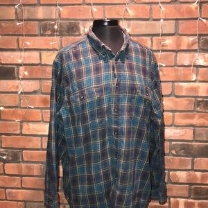 Outdoor Life Flannel Button Down Soft and Comfy
